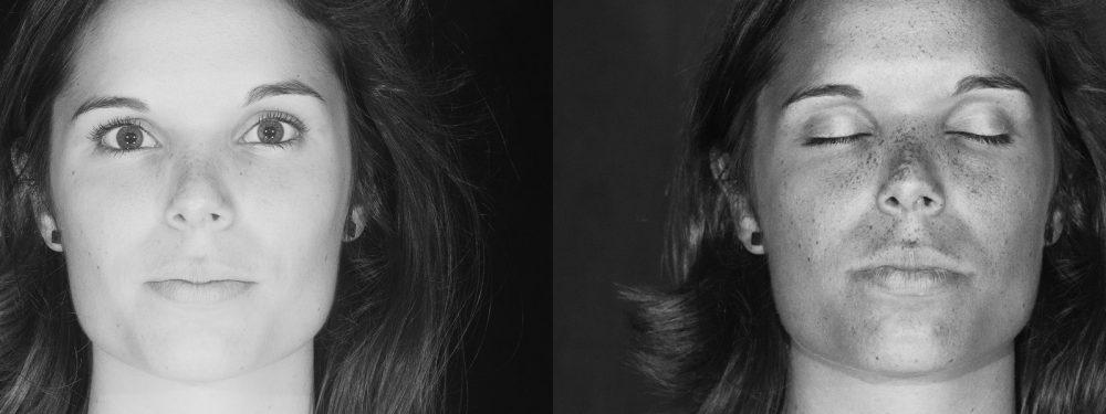 Diptyche de portraits en ultraviolet réalisées durant l'AG FEBEA par le photographe Pierre-Louis Ferrer