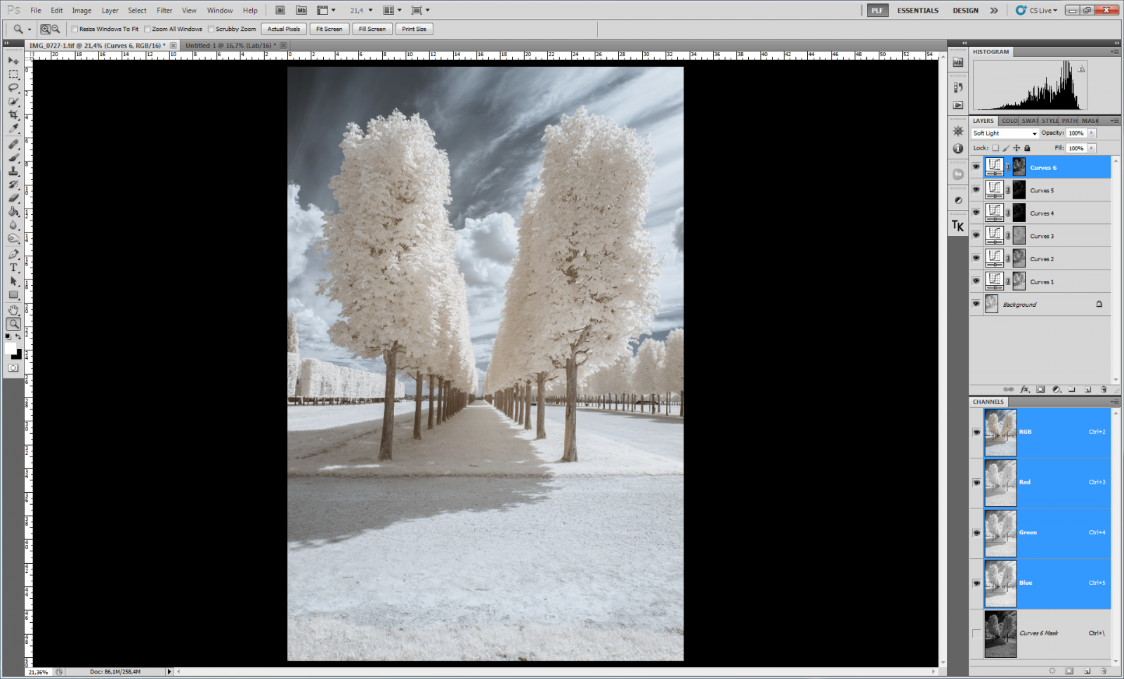 IR tuto 3 | Pierre-Louis Ferrer | Photographie infrarouge