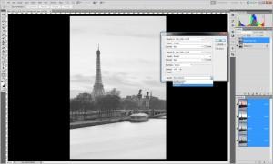 Tutoriel éclaircissement localisé d'une photographie sous Photoshop, par Pierre-Louis Ferrer - étape 3