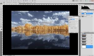 Tutoriel de traitement d'une photographie en infrarouge couleur, par Pierre-Louis Ferrer - étape 10