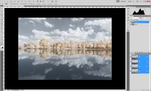Tutoriel de traitement d'une photographie en infrarouge couleur, par Pierre-Louis Ferrer - étape 6