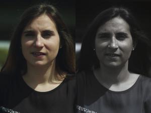 Comparatif d'une photographie prise en ultraviolet et d'une photographie classique, par Pierre-Louis Ferrer