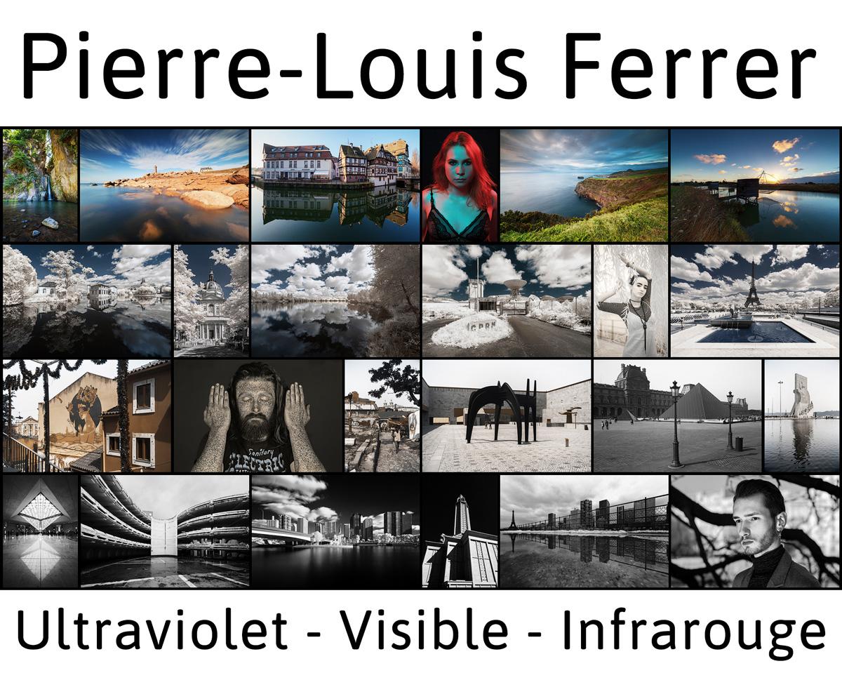 Bannière du site de photographie de Pierre-Louis Ferrer, photographe professionnel à Paris spécialisé en ultraviolet, visible et infrarouge