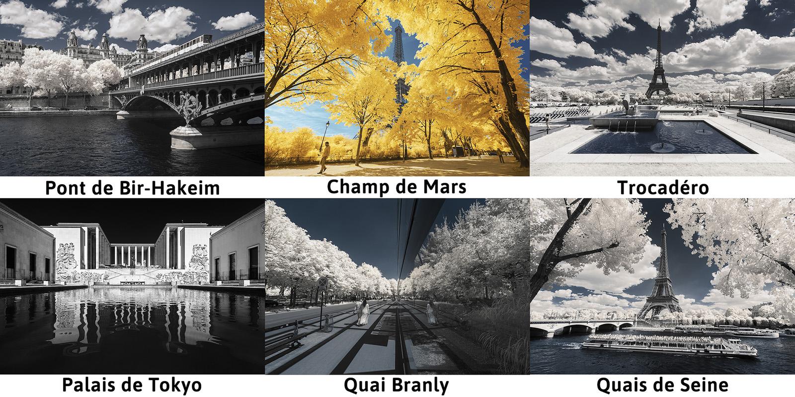 Illustration des lieux visités lors du workshop de photographie infrarouge organisé par Pierre-Louis Ferrer.