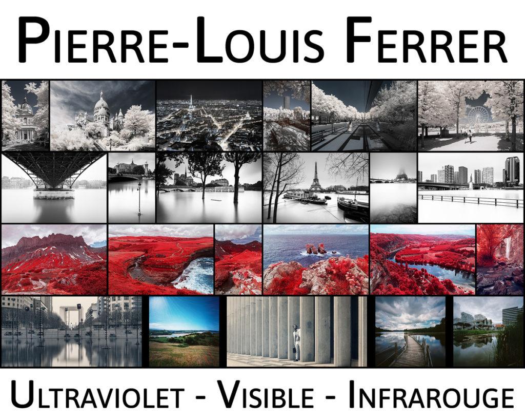 Bannière d'accueil du site Internet du photographe Pierre-Louis Ferrer