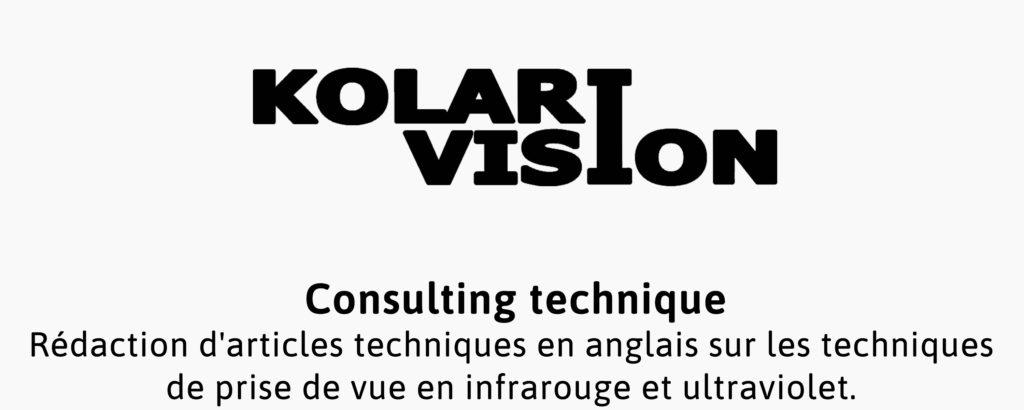 Prestation photographique pour la société Kolari VIsion, spécialisée en solutions de photographie infrarouge.