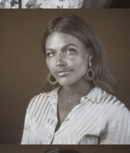 Portraits en ultraviolet issus de l'événement Walgreens saveyourskin s'étant tenu en juin 2019 avec le photographe Pierre-Louis Ferrer.