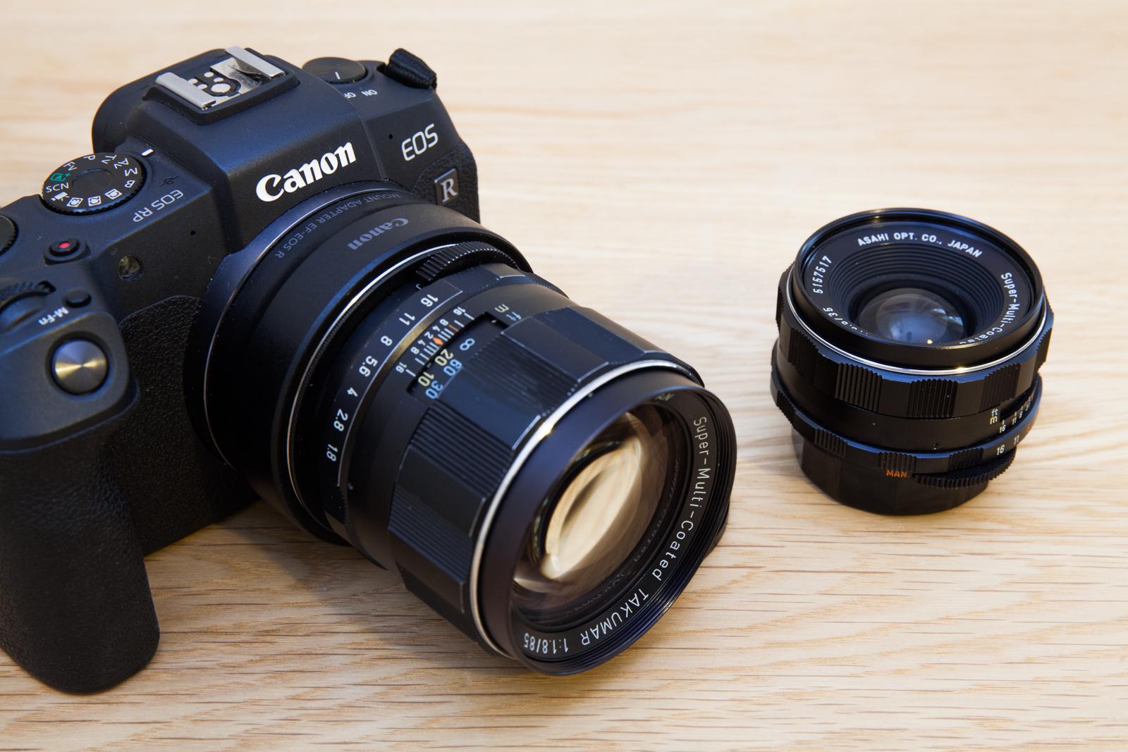 Canon RP, SMC Takumar 35mm F/3.5 et 85mm F/1.8 composant l'équipement idéal de Pierre-Louis Ferrer, présenté dans un article de blog.