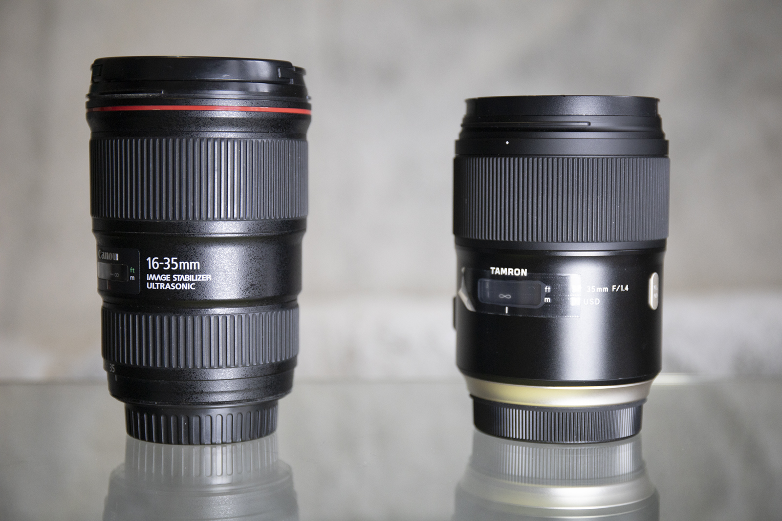 comparatif taille canon tamron Copie | Pierre-Louis Ferrer | Test du Tamron SP 35 mm f/1.4 Di USD en photographie infrarouge | Partie 1