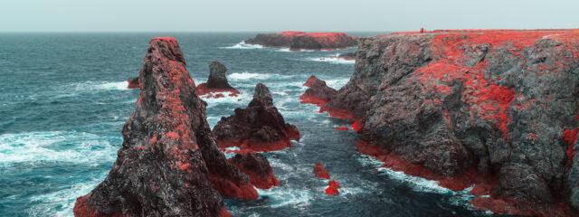 Bannière photo Belle-Île-en-Mer en infrarouge